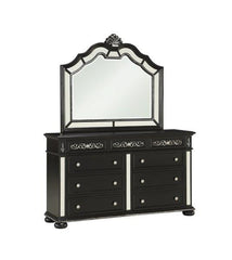 Diana- Black Dresser and Mirror