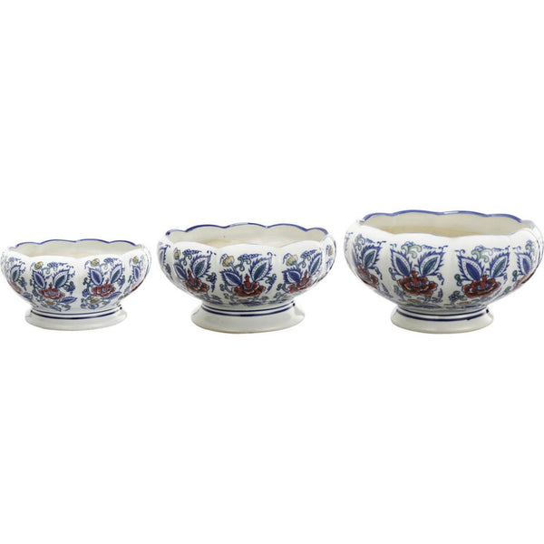 Shop A&B Home Blue and White Porcelain Pots at  Raley's Home Furnishing