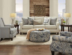 Truth Or Dare Spice Sofa and Loveseat