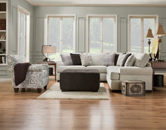 Shop Corinthian Griffin Menswear 2 Pc. Sectional -Left arm facing Sofa at  Raley's Home Furnishing