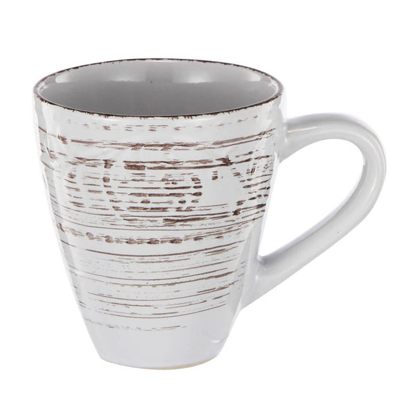 Shop A&B Home Rustic Flare White Mug at  Raley's Home Furnishing