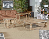 Shop Ashley Furniture Johnella Gray Rectangular Cocktail Table at  Raley's Home Furnishing