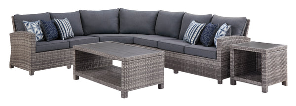 Salem Beach 4-Pc Sectional