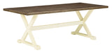 Preston Bay Retangular Dining Table with UMB Option