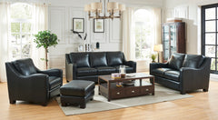 Presley Leather Loveseat