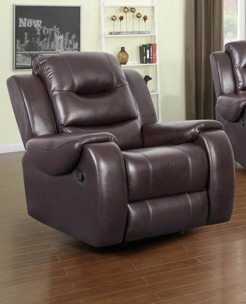 Shop Raley's Home Furnishings Golden Chocolate Recliner - Online Exclusive at  Raley's Home Furnishing