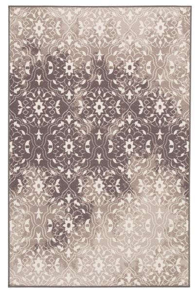 Shop Ashley Furniture Jerilyn Gray/White Medium Rug at  Raley's Home Furnishing