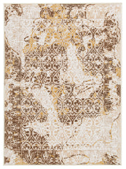 Shop Ashley Furniture Jariath Ivory/Brown Medium Rug at  Raley's Home Furnishing