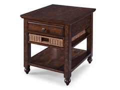 Shop Magnussen Cottage Lane Rectangular End Table at  Raley's Home Furnishing