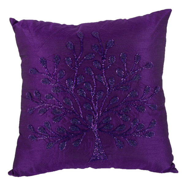 Shop A&B Home Purple Tree Pillow at  Raley's Home Furnishing