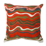 Shop A&B Home Abstract Stripes Pillow at  Raley's Home Furnishing