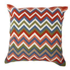 Shop A&B Home Chevron Pillow at  Raley's Home Furnishing