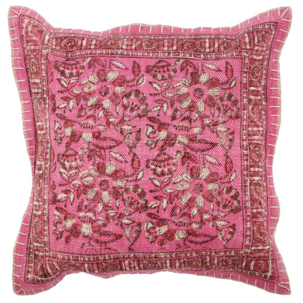 Shop A&B Home Square Pink Pillow at  Raley's Home Furnishing