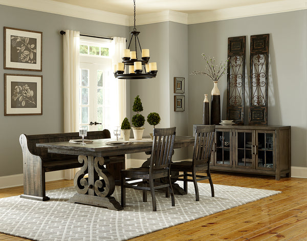 Shop Magnussen Valencia Table & 4 Side Chairs at  Raley's Home Furnishing