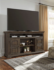 Wyndahl Extra Large TV Stand with Fireplace Option