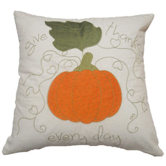 Shop A&B Home Embroidered Pumpkin Pillow at  Raley's Home Furnishing