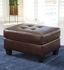 Altonbury Ottoman- Walnut