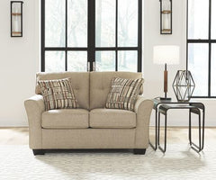 Ardmead Loveseat- Putty