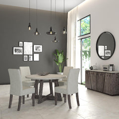 Shop Global Home Furnishings Austin Round Dining Table Set at  Raley's Home Furnishing
