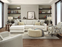 Shop Fusion Braxton Ivory 2 Pc Sectional Laf Chaise at  Raley's Home Furnishing