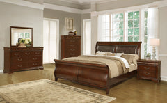 Shop lifestyle Lifestyle C4116A King Sleigh Bed - Online Exclusive at  Raley's Home Furnishing
