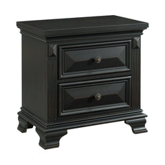 Shop Elements Calloway Black Nightstand- Online Exclusive at  Raley's Home Furnishing