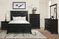 Shop Elements Calloway Black Queen Panel Bed - Online Exclusive at  Raley's Home Furnishing
