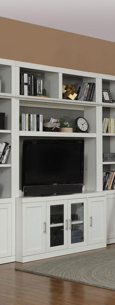 Shop Parker House Catalina TV Console & Bookcase Hutch at  Raley's Home Furnishing