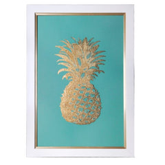 Shop Crestview Gold Foil Pineapple 2 at  Raley's Home Furnishing