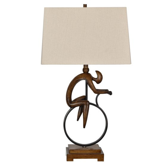 Shop Crestview Cycle Table Lamp at  Raley's Home Furnishing