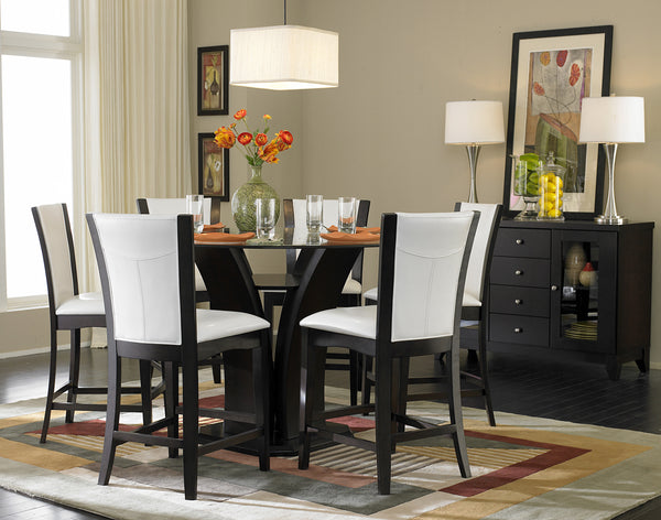 Shop Homelegance Daisy Pub Table & 4 Brown Barstools - Online Exclusive at  Raley's Home Furnishing