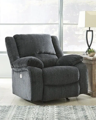 Draycoll Power Rocker Recliner- Slate