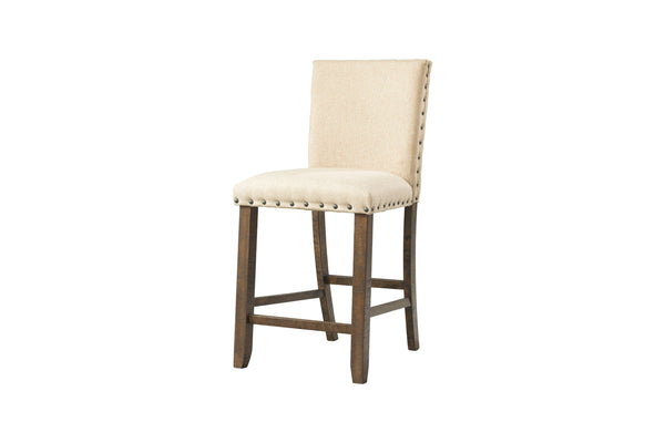 Shop Elements Jax Brown Upholstered Counter Chair at  Raley's Home Furnishing