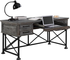 Shop Parker House Gramercy Park Gray Writing Desk at  Raley's Home Furnishing