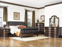 Shop FD HOME FD Home: Grand Estates King Upholstered Sleigh Bed - Online Exclusive at  Raley's Home Furnishing