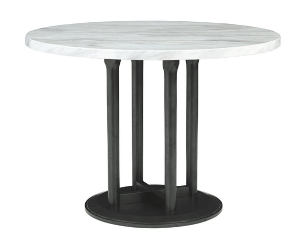 Centiar - Two-tone - Round Dining Room Table