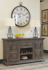 Wyndahl - Rustic Brown - Dining Room Server