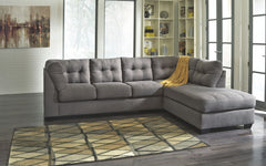 Maier Charcoal 2 Pc Sectional Sofa Sleeper