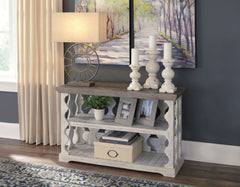 Havalance - Gray/White - Console Sofa Table