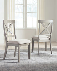 Parellen - Gray - Dining UPH Side Chair