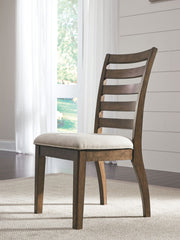 Flynnter - Medium Brown - Dining UPH Side Chair
