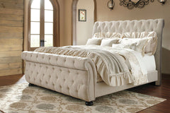 Willenburg King UPH Bed