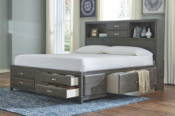 Caitbrook King Storage Bed