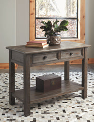 Wyndahl - Rustic Brown - Sofa Table
