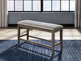 Johurst - Beige/Brown - Double UPH Bench (1/CN)