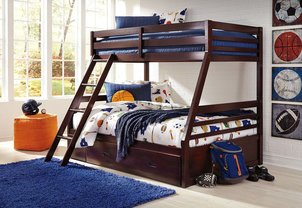 Halanton Twin/Full Bunkbed w/ Storage