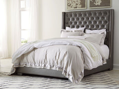 Coralayne King Tufted Uph Bed