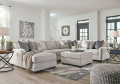 Dellara Chalk 5 Pc. Sectional