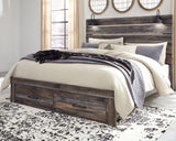 Drystan Multi King Bed With Storage Footboard
