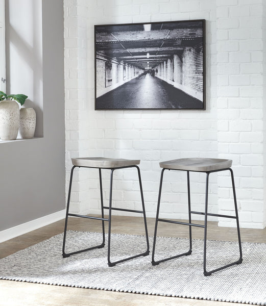 Showdell - Gray/Black - Tall Barstool